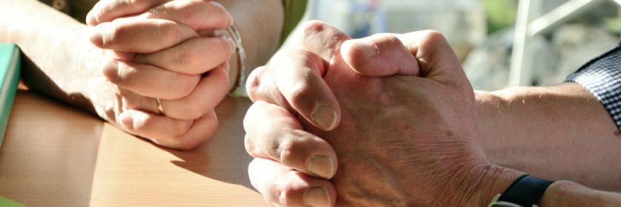 Neue Erfahrung: Beten daheim